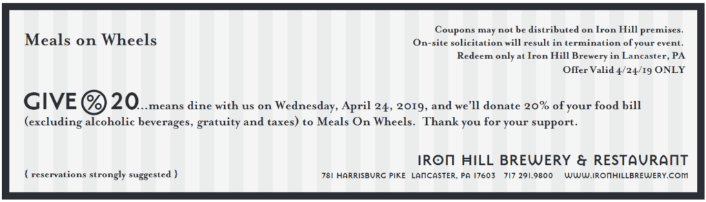 iron hill brewery coupons lancaster